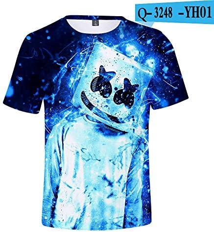 Fortnite Llama Night Shirt 2019 New Hot Style American Dj Marshmello Marshmallow Fortnite Fortress Night Short Sleeved T Shirt 3d Digital Printed Shirt For Men Women Xs 11 Buy Online At Best Price In Uae Amazon Ae