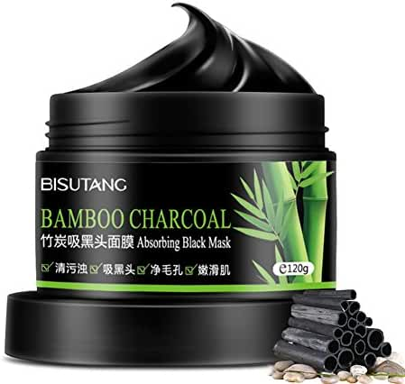 Mabox Bamboo Charcoal Deep Clean Mask Remove Peel Off Anti Face Mud Mask