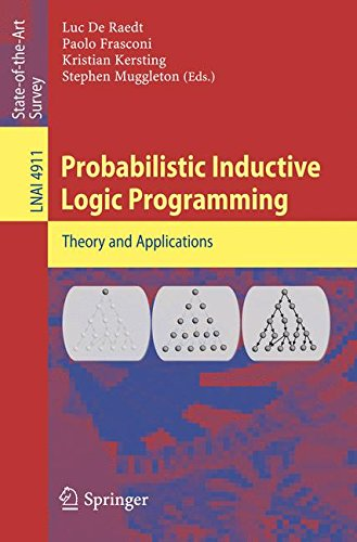 Probabilistic Inductive Logic Programming (Lecture Notes in Computer Science) by Brand: Springer