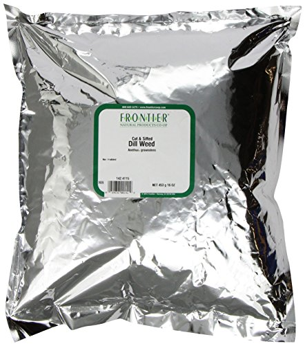 Frontier Dill Weed Cut & Sifted, 16 Ounce Bag