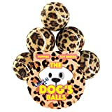 The Little Dog's Balls - 6 Small Leopard Print Tennis Balls for Dogs - Premium Mini Dog Toy, for Puppies, Small Dogs & Cats, Puppy Exercise, Play, Training & Fetch. The King Kong of Little Dog Balls