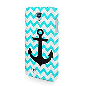 Chevron Pattern With Sailor Anchor Tumblr Hard Snap-On Protective Case Cover For Samsung Galaxy S4