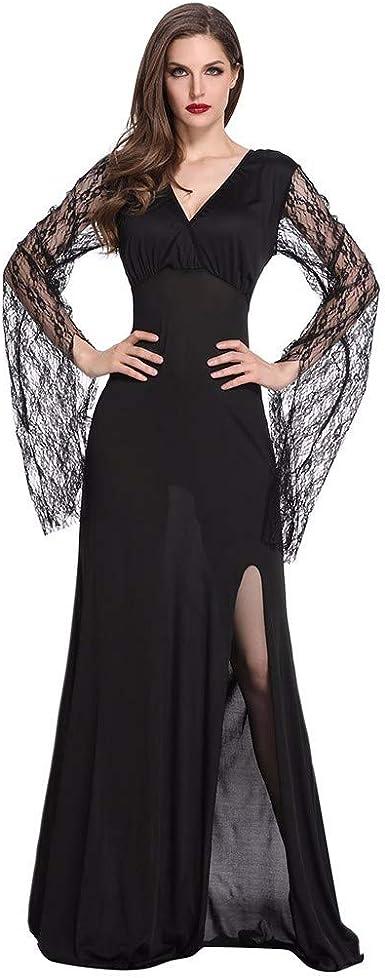 CLOOM Mujer Bruja Cosplay Vestido Party Ropa,Sexy Medieval Retro ...