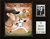 MLB Tim Lincecum Back 2 Back Cy Young San Francisco Giants Player Plaque
