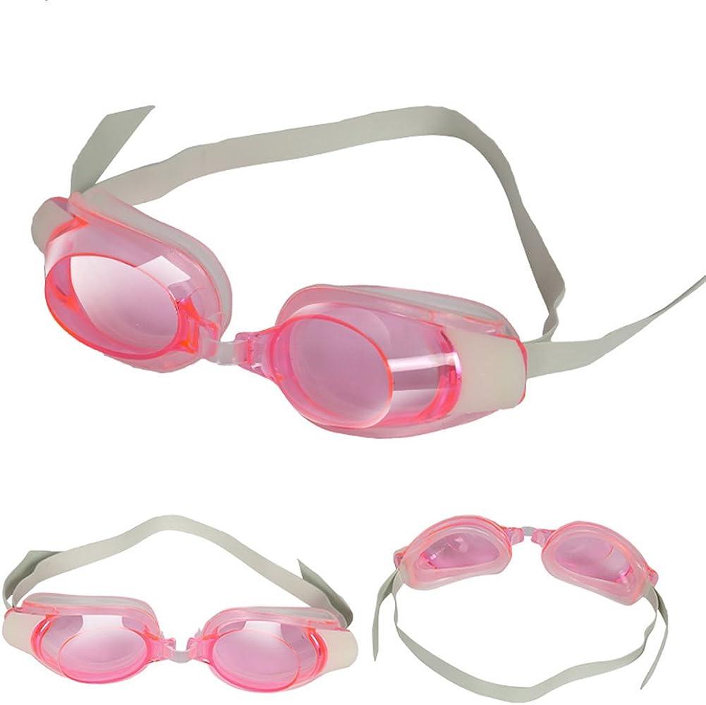 Guoainn Unique Kids Boy Girl Swimming Goggles Waterproof Eyes Protector Swim Glasses Eyewear