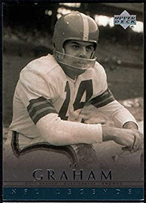 Football NFL 2000 Upper Deck Legends #10 Otto Graham Browns