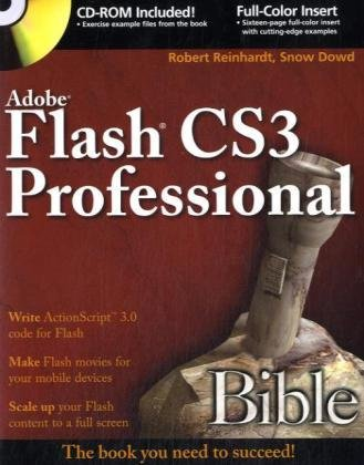 Adobe Flash CS3 Professional Bible -