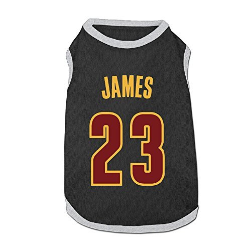 (Cleveland Cavaliers LeBron James 2016 Finals Champions 100% Polyester Dog Shirt)