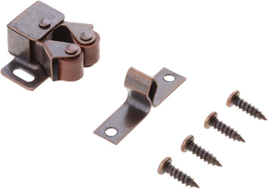 Mehrzweck Magnetverschluss T/ürkeile Catch T/ür Stopper mit Montage Schrauben