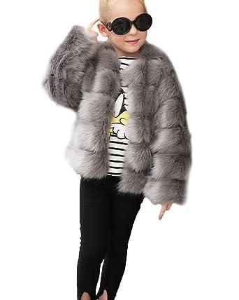 cheap for discount 5d983 13ede Suncaya Suncaya Kinder Mädchen Prinzessin Mantel Jacke ...