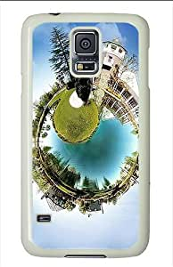 Samsung Galaxy S5 Cases and Covers - Small World Polycarbonate Case for Samsung Galaxy S5 White