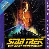 1998 Wall Calendar (Star Trek The Next Generation)