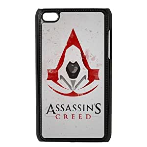 Classic Case Assassin's Creed pattern design For Ipod Touch 4 Phone Case