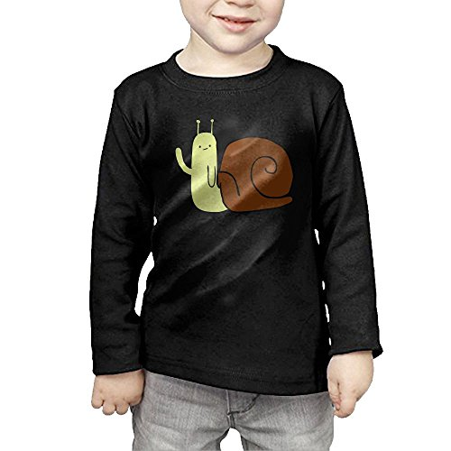 Thai Embroidered Dress (Eilinqch Cute Snail Baby&Toddlers' Top Long Sleeve T-Shirt 3 Toddler)