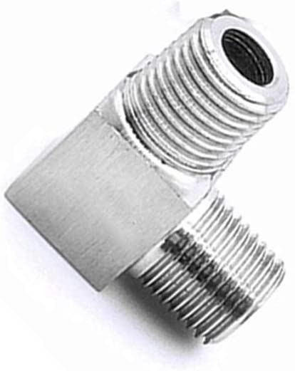 CHENTAOMAYAN 304 Stainless Steel 1 BSP Male Thread 90 Degree Elbow High Pressure CNC Pipe Fitting Connector Coupler for Water Air Oil