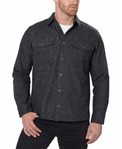 Freedom Foundry Men's Chamois Flannel Shirt (Black