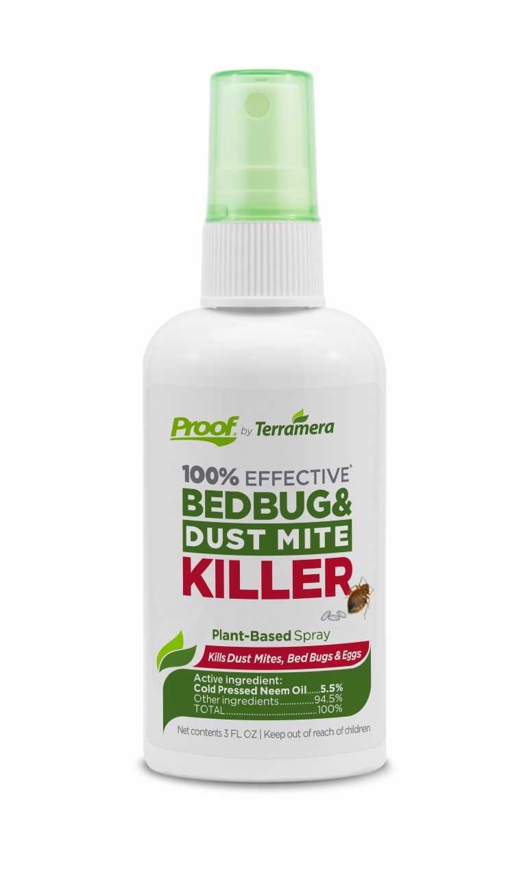 Proof Bed Bug & Dust Mite Killer (Spray, Small)