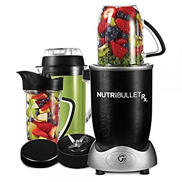 NutriBullet 7012495000074000 Batidora de vaso 1700W Negro - Licuadora (Batidora de vaso, Negro,