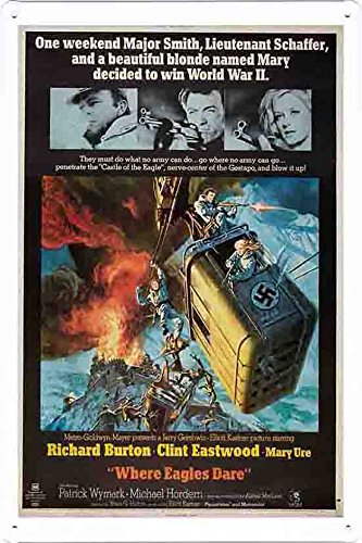 (Movie Poster Home Theater Decor Metal Tin Sign Wall Art by Masterpiece Collection 20*30cm (OIL-MFB2440))