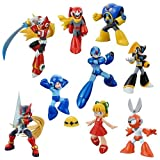 Mega Man Trading Figures Set