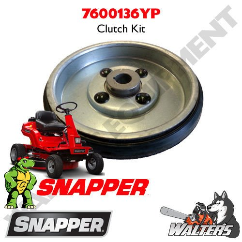 (Genuine Snapper 7600136YP / 7600208YP Smooth Clutch Kit for Rear Engine Riders --P#EWT43 65234R3FA770125)