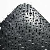 Crown CD0312DB Industrial Deck Plate Anti-Fatigue Mat Vinyl 36 x 144 Black, 36 x 144, Black