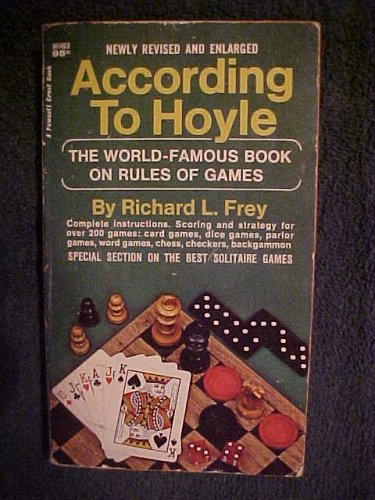 Hoyle Poker Rules - According to Hoyle - The World-Famous Book on Rules of Games