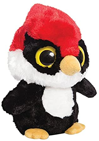YooHoo & Friends - Woodpecker, peluche, 18 cm (Aurora World 60379)