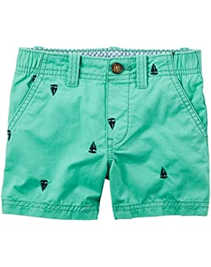 Carter's Shorts, Teal, 6 Months