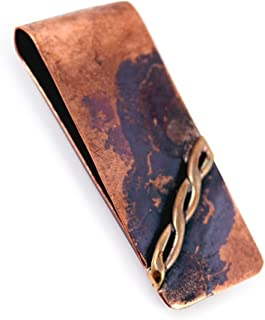 product image for Rustic Reclaimed Copper Money Clip
