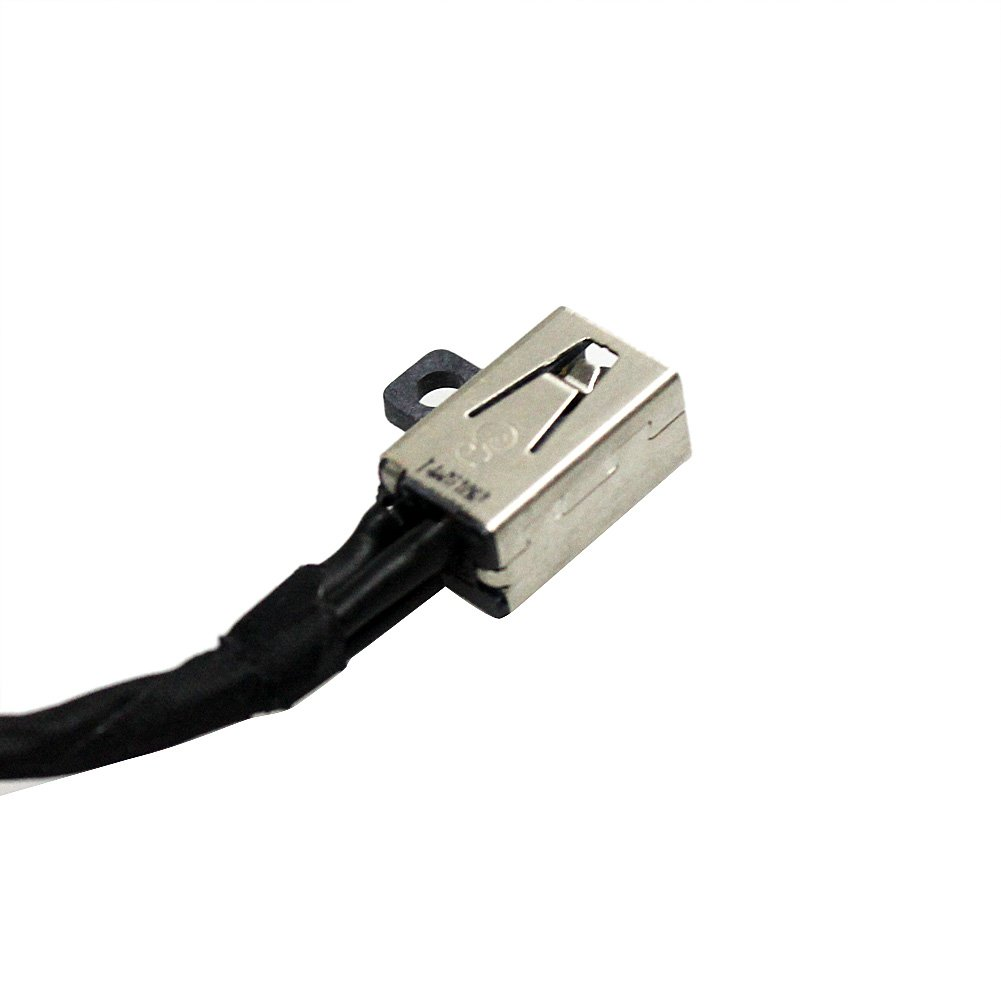 GinTai DC Power Jack w/Cable for Dell Inspiron i3567-5664 i3567-5185BLK-PUS i3567-5820BLK i3567-5664BLK-PUS i3567-3919BLK 450.09W05.0021 15-3567 FWGMM 0FWGMM 450.09W05.0001 by GinTai (Image #3)