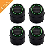 Ultrasonic Pest Repeller with Adjustable Head and Night Light for Indoor -Pack of 4 Electronic Plug In Indoor Pest Control Device, Mice Repellent, Insects Repellent, Flying Bugs or Insects