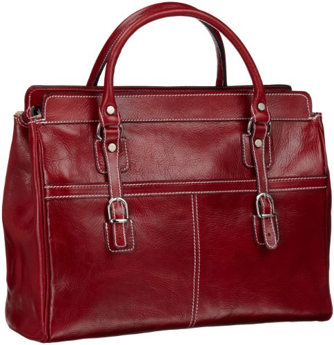 Floto Casiana Mini Handbag, Tuscan Red, One Size