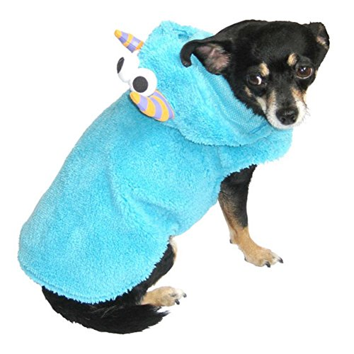 Walmart Plush Blue Monster Dog Costume Pet Outfit XXS