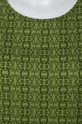 fashion4EVA Oversize-Top Ranken turtle green
