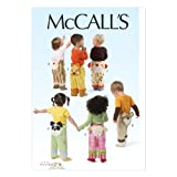 quilters pattern f - McCall Pattern Company M6825 Toddlers' Pants Sewing Template, All Sizes