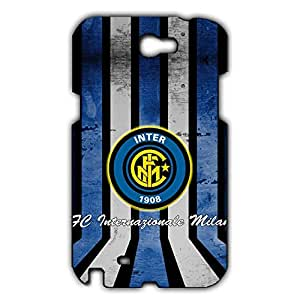 Inter Logo Phone Case for Samsung Galaxy Note 2 3D Hard Black Plastic Cover