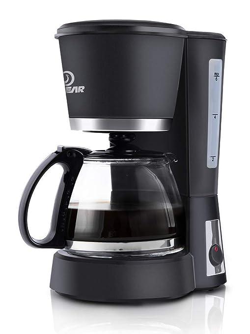 SUNHAO Máquina de café espresso Cafetera Inicio automático pequeño mini goteo cafetera