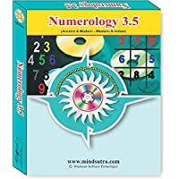 Numerology 3.5 ( Language Hindi , English ) Astrology Software (CD)