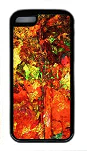 MMZ DIY PHONE CASESlick Design with Illustration Indian Summer Soft & Smooth TPU Back Case for ipod touch 5 -516067