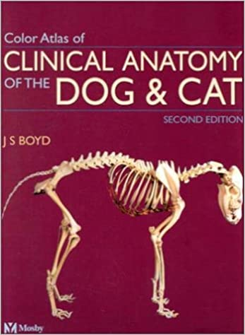 Color Atlas of Clinical Anatomy of the Dog and Cat - Softcover ...
