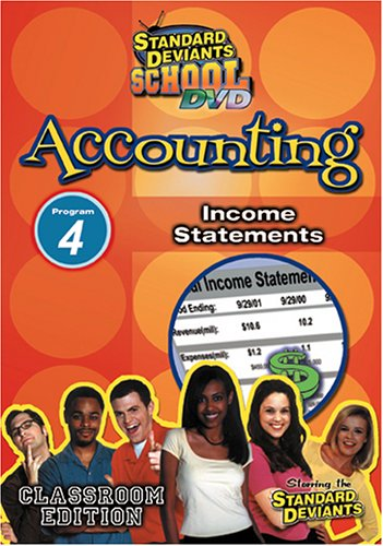 Four Corporation (Standard Deviants School - Accounting, Program 4 - Income Statements (Classroom Edition))