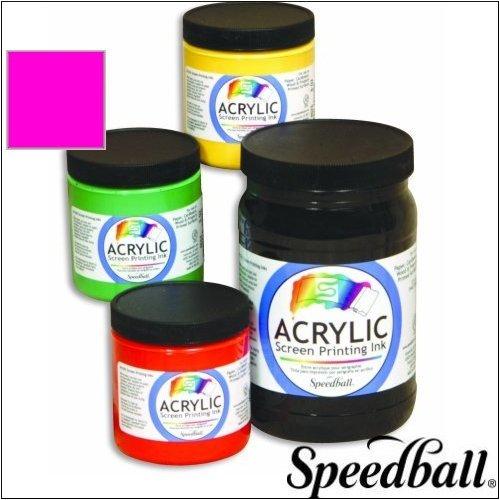 Speedball Permanent Acrylic Screen Printing Ink - Gallon - Process Magenta - 9734257 U