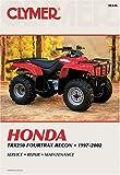 Honda TRX250 Recon, 1997-2002, Clymer Publications Staff, 0892877863