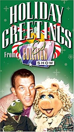 Misunderstood Holiday Greetings From The Ed Sullivan Show vhs Amazoncom Amazoncom Holiday Greetings From The Ed Sullivan Show vhs Ed