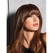 Clip-In Bangs by Jessica Simpson& Ken Paves R22 Swedish Blonde