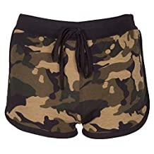 Noroze Womens Camouflage Hot Pants Ladies Army Shorts