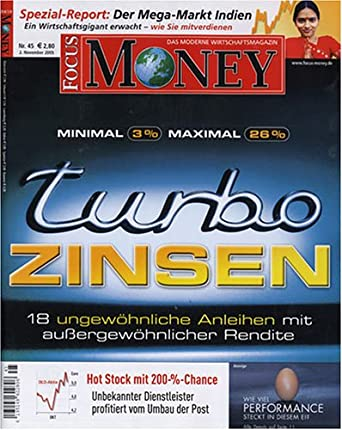 Focus Money Print Magazine