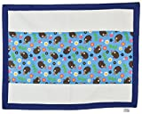 Yogis Baby Organic Changing Mat (White And Blue)