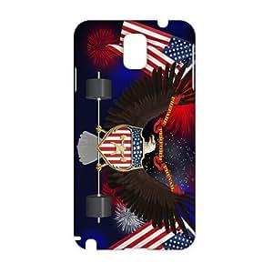Angl 3D Case Cover Grande Selo dos Estados Unidos Phone Case for Samsung Galaxy Note3